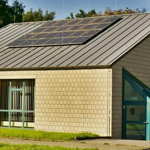 Photovoltaik- und Windenergie